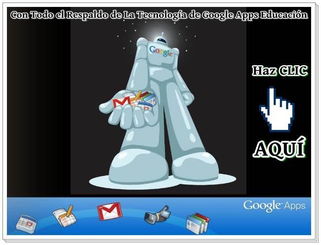 Con La Tecnología de Google Apps Educación